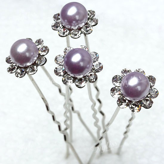 50p-Lilac-Imitated-Pearl-Hair-Pin-Clip-Barrette-Crystal